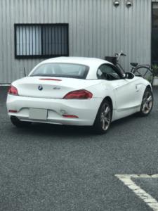 BMW・Z4のスマートキーの鍵の作成・神奈川、東京のイモビライザーキーおまかせ下さい