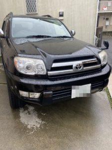 狛江市のトヨタハイラックスサーフのイモビライザーキーの鍵の作成・外車、スマートキーもおまかせ下さい