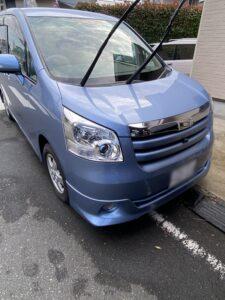 鶴ヶ島市のトヨタノアのスマートキーの鍵の作成・外車、イモビライザーキーもおまかせ下さい