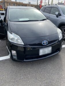 藤沢市のトヨタプリウスのスマートキーの鍵の作成・外車、イモビライザーキーもおまかせ下さい