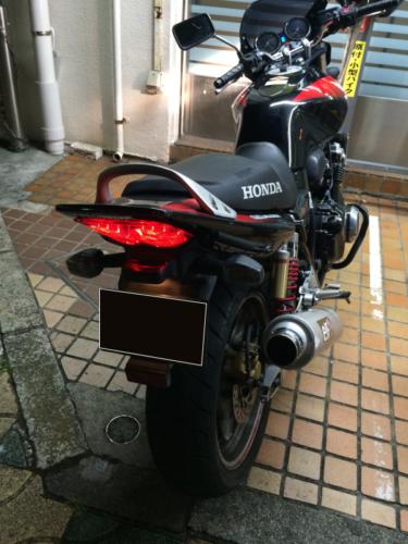ホンダCB400SFのイモビライザーキーのバイクの鍵作製