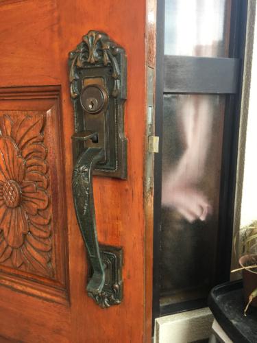 コダイ(古代)アンティーク錠(装飾錠)の鍵の故障による錠前交換