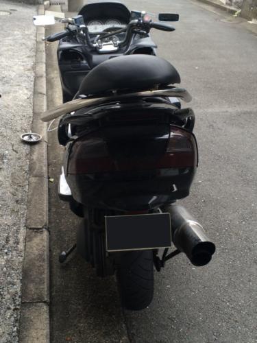 ヤマハマジェスティーイモビライザーキーのバイクの鍵作成