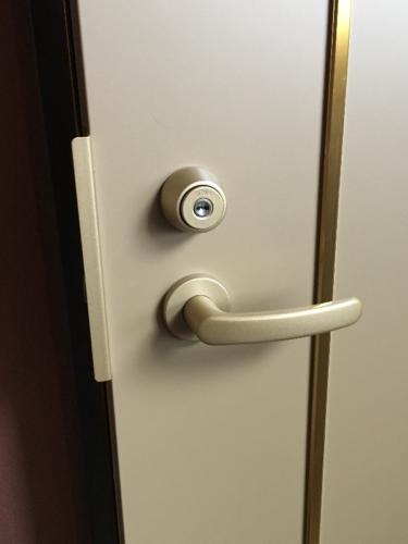 フェリカロック(シリンダーICロック2)の鍵を取付(オートロック・自動施錠)