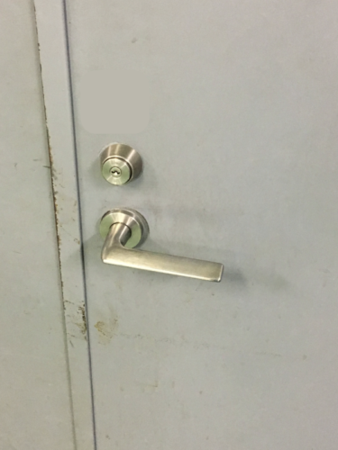 カードロック(イナホインターロック)の鍵を取付(フェリカ・オートロック・自動施錠)