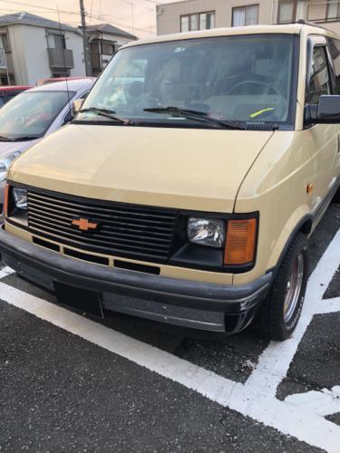 シボレーアストロのキーをなくしてしまった(紛失)・東京、神奈川の車の鍵の作成おまかせ下さい